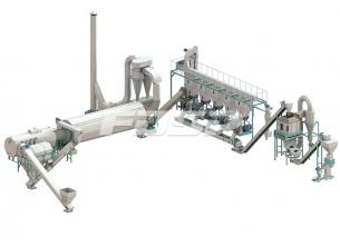 4-6 tonn produksjonslinje for pelletiseri