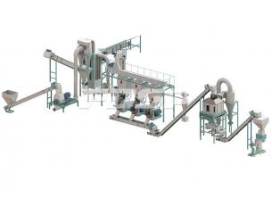 2,5-3,5 tonn/time skrappelleterende produ