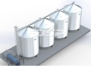Byggematerialer industri 4-3000T sementstå