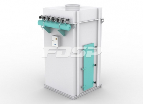 Fôrproduksjonsmaskiner støvfjerningsuts