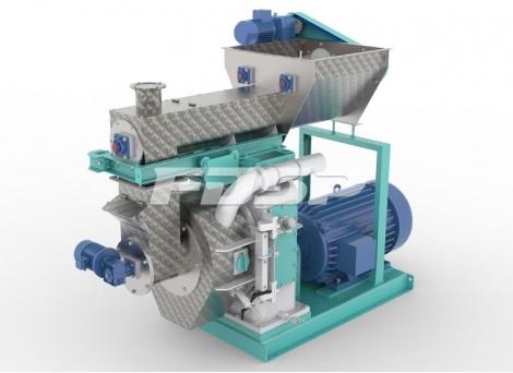 Biomassegranulator i MZLH420 -serien