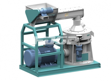 LZLH -serie vertikal biomassegranulator